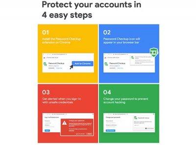 Google запускает расширение Chrome Password Checkup