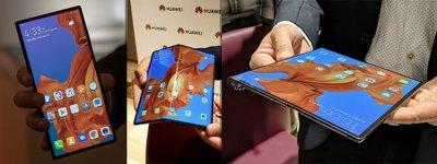 Выпущен  Huawei Mate X складной 5G смартфон