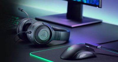 Razer предлагает сверхлегкие наушники для игры Kraken X
