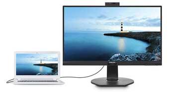 Philips выпускает пару гибридных USB-док-мониторов