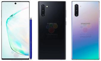 Новые Samsung Galaxy Note 10 и 10 Plus маркетинговые слухи