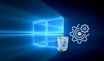 Как настроить корзину в Windows 10