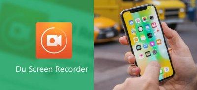 Запись экрана Айфон приложением DU Recorder со звуком