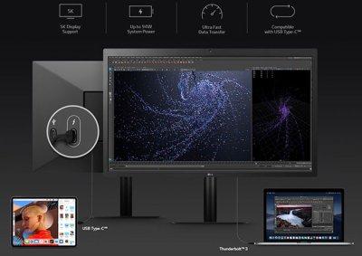 LG выпустила UltraFine 5K дисплей 27MD5KL