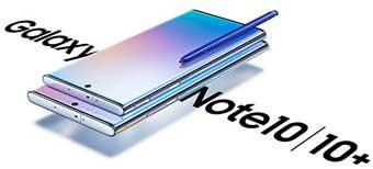 Samsung выпускает Galaxy Note 10, 10+ и 10+ 5G