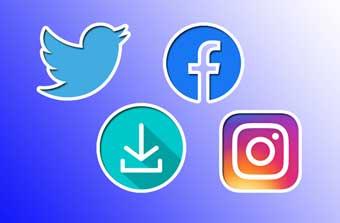 Как скачать видео с Twitter, Facebook и Instagram