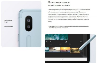 Samsung выпустила планшет Galaxy Tab S6