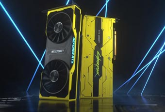 Демонстрация GeForce RTX 2080 Ti Cyberpunk 2077 Edition